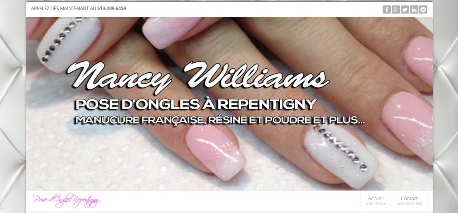 Pose d'Ongles Repentigny | Nancy Williams