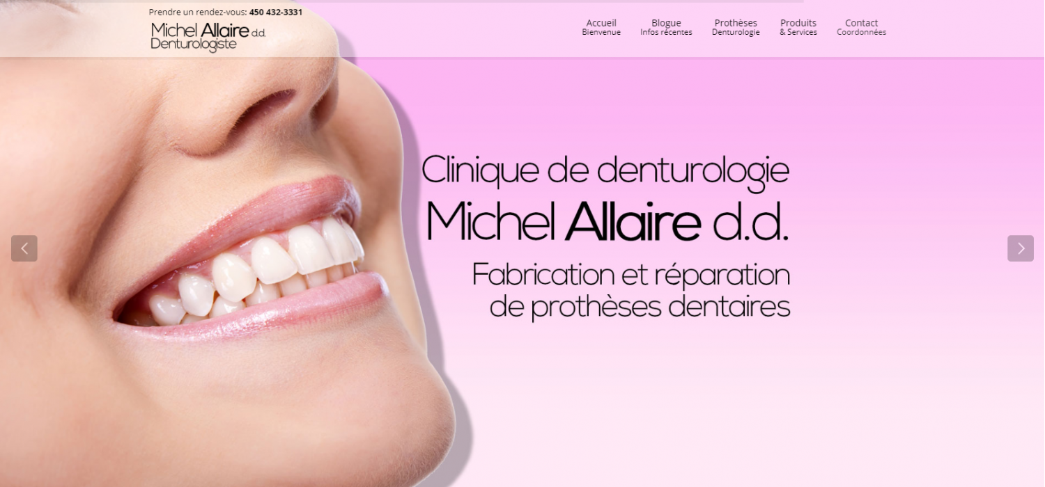 Michel Allaire – Clinique de Denturologie