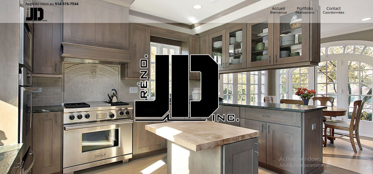 Réno JD Inc. – Rénovation Julien Dubé
