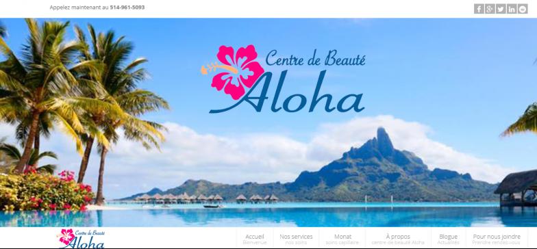 Centre de beauté Aloha